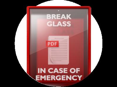 Break Glass In Case of Emergency eBook